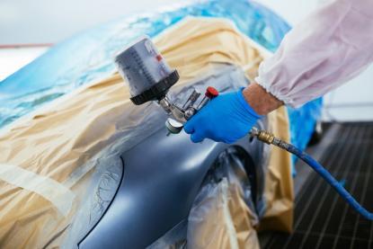 Peinture carrosserie voiture Vitrolles